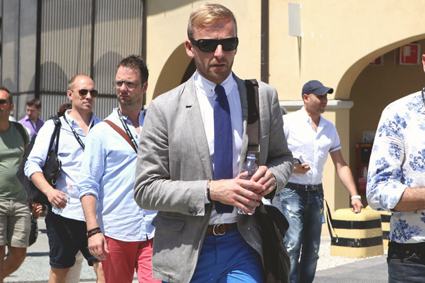 Детали: Репортаж с выставки мужской одежды Pitti Uomo. День заключительный. Изображение № 7.