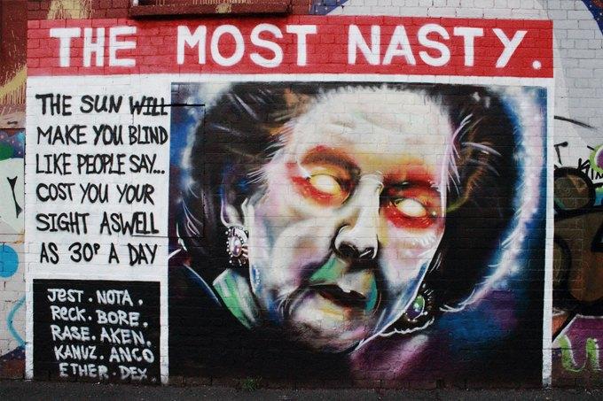 15 политических граффити из разных уголков мира. Изображение № 8.