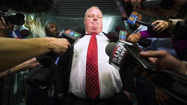 Канадская пресса составила список пьяных выходок мэра Торонто. Изображение № 6.