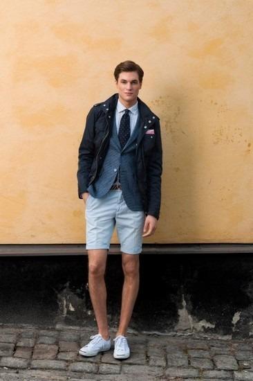 Марка Gant Rugger представила лукбук весенней коллекции одежды. Изображение № 17.
