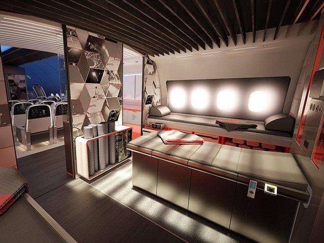 Nike представила супертехнологичный самолёт для своих спортсменов. Изображение № 6.