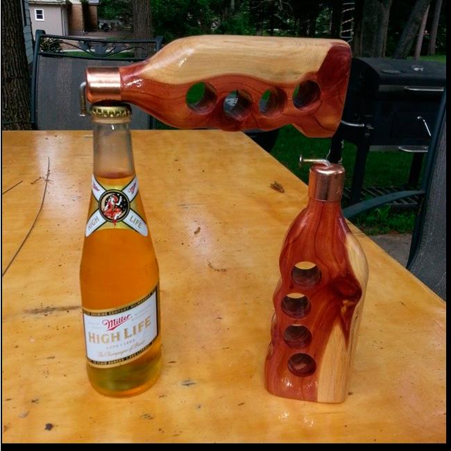 Ручная работа: Открывалки бутылок Селестино Руффини. Изображение № 1.