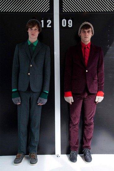 Марка Band Of Outsiders опубликовала лукбук осенней коллекции одежды. Изображение № 7.