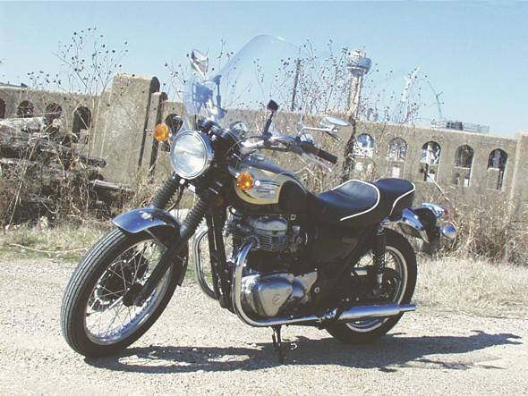 Kawasaki W650/800. Изображение № 24.