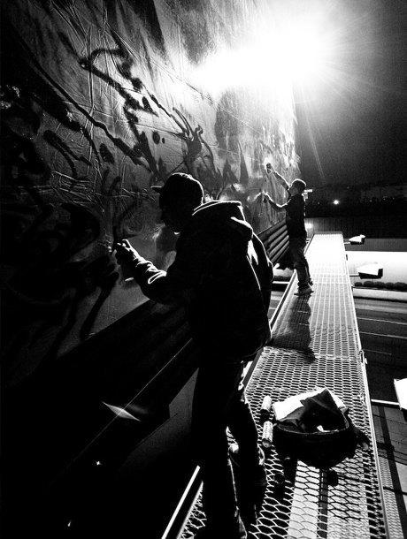 8 знаменитых фотографов, исследовавших мир граффити. Изображение № 25.