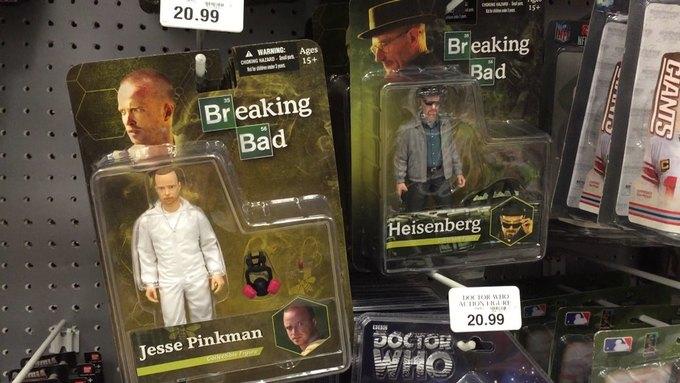 Против игрушечных Уолтера Уайта и Джесси Пинкмана собирают подписи. Изображение № 1.