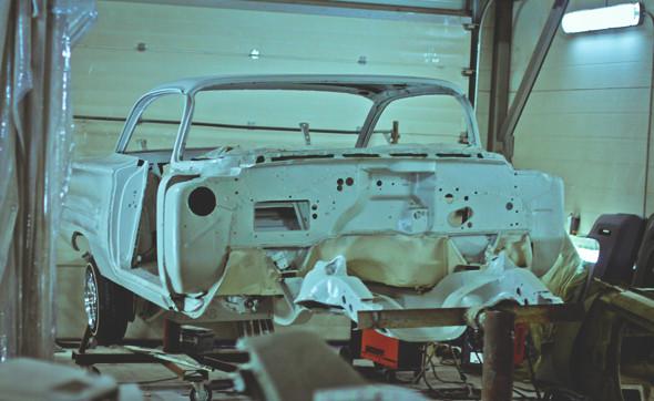 «С искрами из-под днища»: Интервью с создателем питерской мастерской Long Island Customs. Изображение № 9.