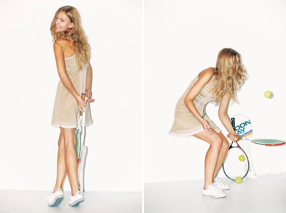 Классические формы: Теннисистка. Изображение № 7.