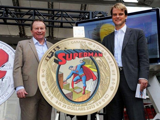 В Канаде выпустили коллекционные монеты с Суперменом. Изображение № 2.