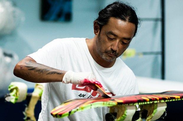 Художник Тахуя Йошикава выпустил коллекцию скейтбордов для компании Deus Ex Machina. Изображение № 4.