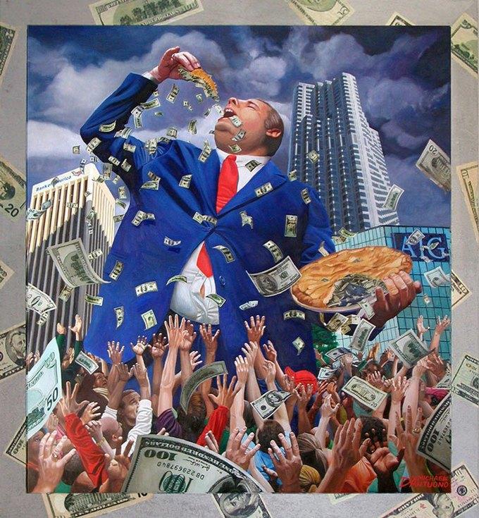 Майкл Д'Антуоно: Социальный поп-арт в работах американского художника. Изображение № 7.