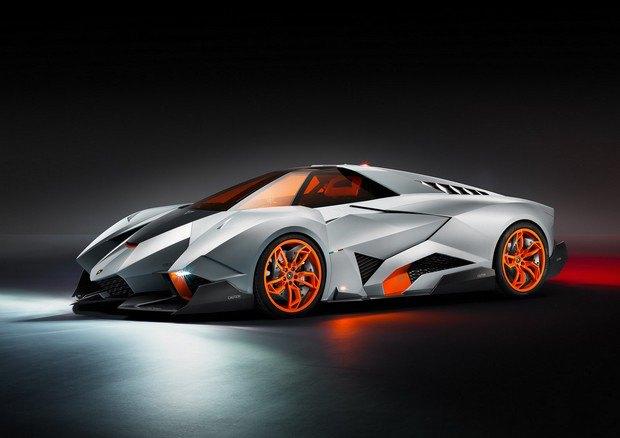 Lamborghini представили концепт одноместного суперкара Egoista. Изображение № 1.