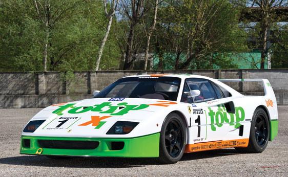 1987 Ferrari F40 Prototype/GT. Изображение № 11.