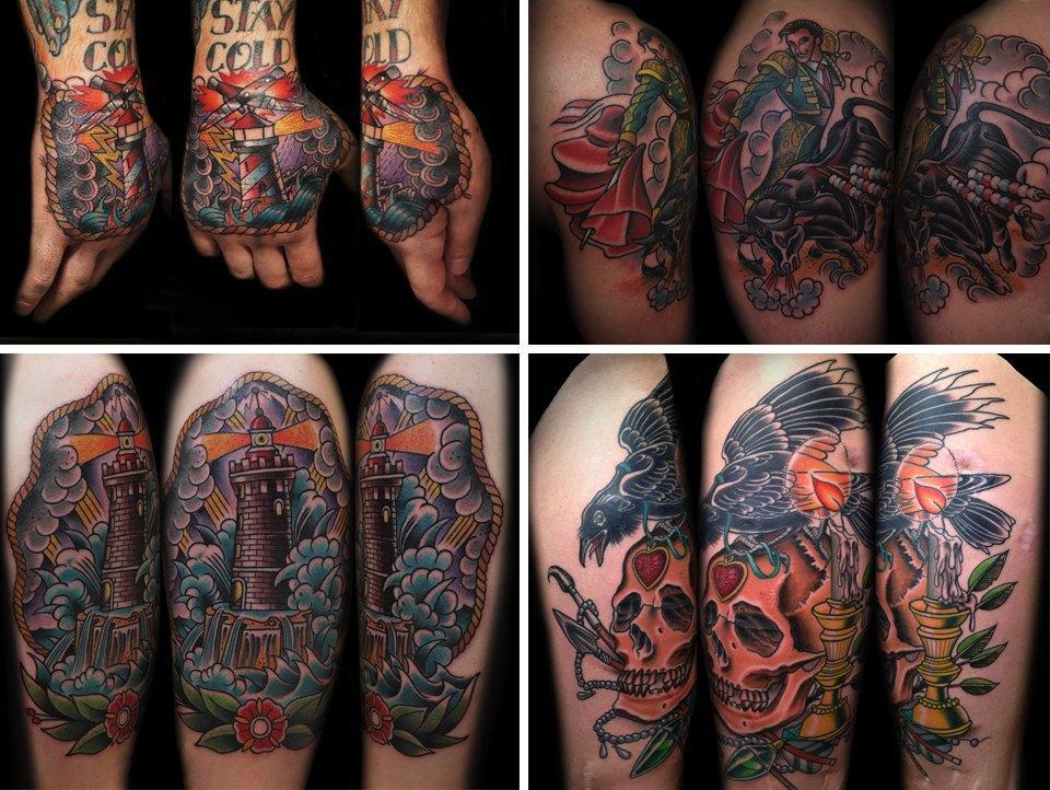 Бьет — значит любит: Старейшие татуировщики Москвы и их лучшие работы. Изображение № 24.