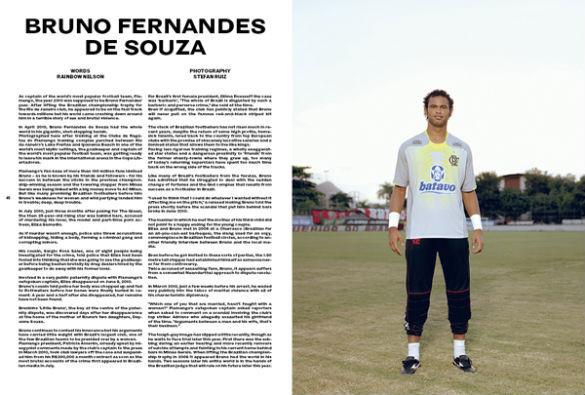 Третий номер футбольного журнала The Green Soccer Journal. Изображение № 3.