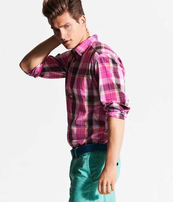 Мужские лукбуки: Zara, H&M, Pull and Bear и другие. Изображение № 29.