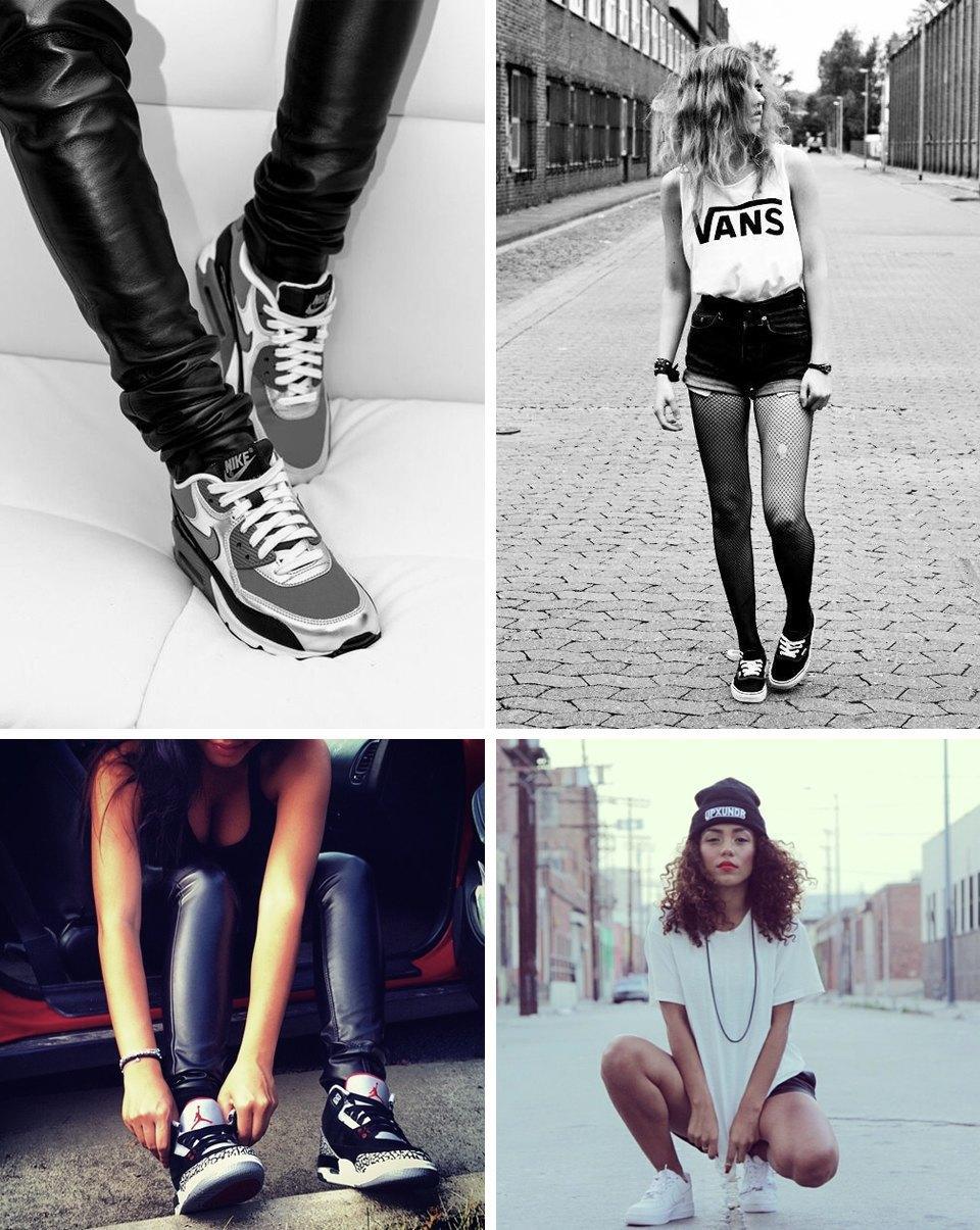 Sneaker porn: 10 Tumblr-блогов с красивыми девушками в кроссовках. Изображение № 5.