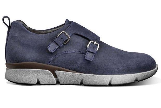 Santoni выпустили монки и ботинки челси на спортивной подошве. Изображение № 1.