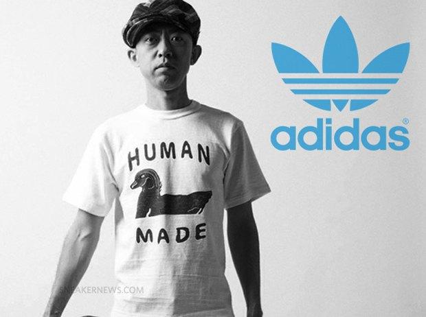 Основатель марки Bape Ниго начнёт сотрудничать с Adidas. Изображение № 1.