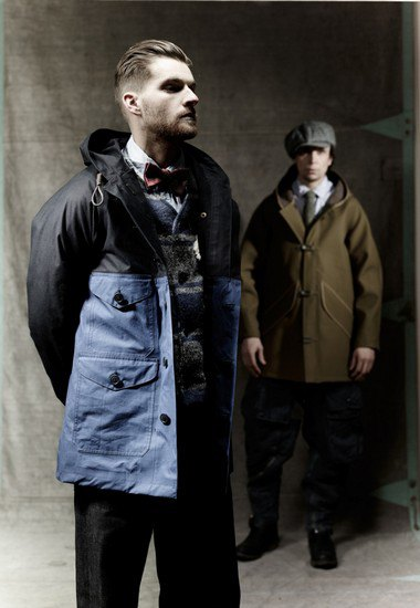 Марка Nigel Cabourn выпустила лукбук осенней коллекции одежды. Изображение № 6.