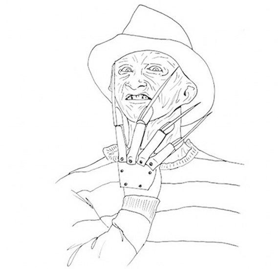 Книжку-раскраску с героями фильмов ужасов изъяли из продажи. Изображение № 3.