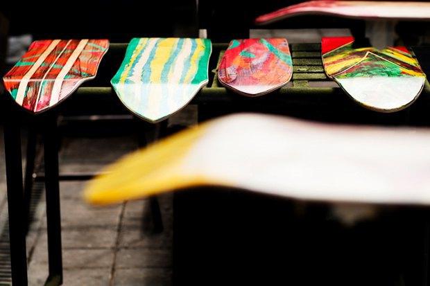 Художник Тахуя Йошикава выпустил коллекцию скейтбордов для компании Deus Ex Machina. Изображение № 8.