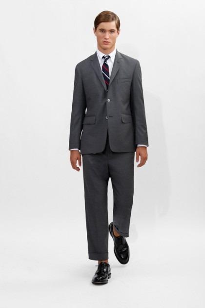 Марка Brooks Brothers представила новую коллекцию одежды линейки Black Fleece . Изображение № 7.