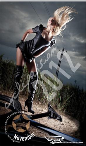 10 эротических календарей на 2012 год. Изображение № 72.