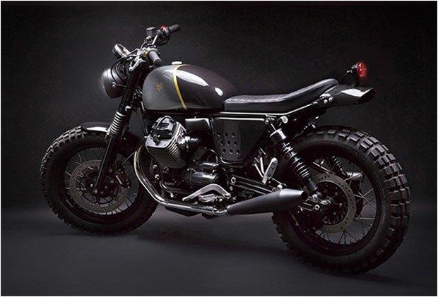 Стефан Вернье построил новый кастом на базе Moto Guzzi V7 Stone . Изображение № 2.