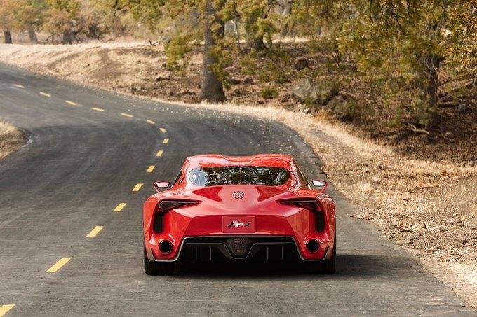 Toyota представила концепт спорткара FT-1. Изображение № 10.