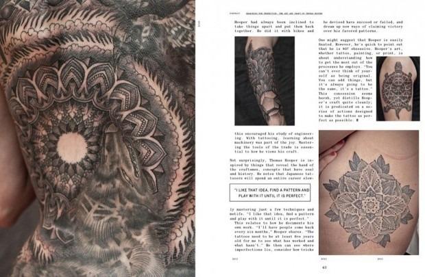 Выходит новая книга о культуре татуировок «Forever: The New Tattoo». Изображение № 5.