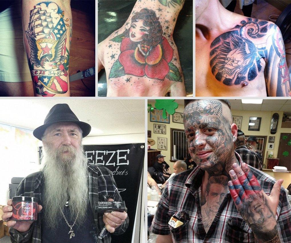 Что публикуют в своих Instagram известные татуировщики. Изображение № 10.