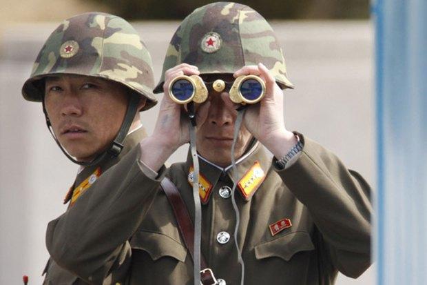 Границу между КНДР и Южной Кореей охраняет сенсор Kinect . Изображение № 1.