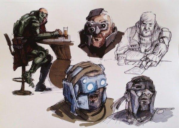 В сеть слили концепт-арт седьмого эпизода «Звёздных войн». Изображение № 15.