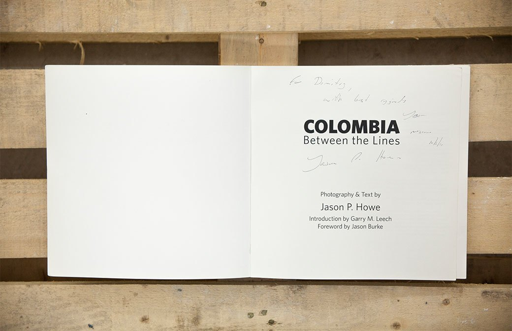 Библиотека мастерской: Книга фотографа Джейсона Хоува Colombia: Between the Lines. Изображение № 2.