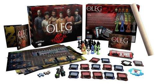 Появилась новая настольная игра про выживание в тюрьме The Oleg Story. Изображение № 4.