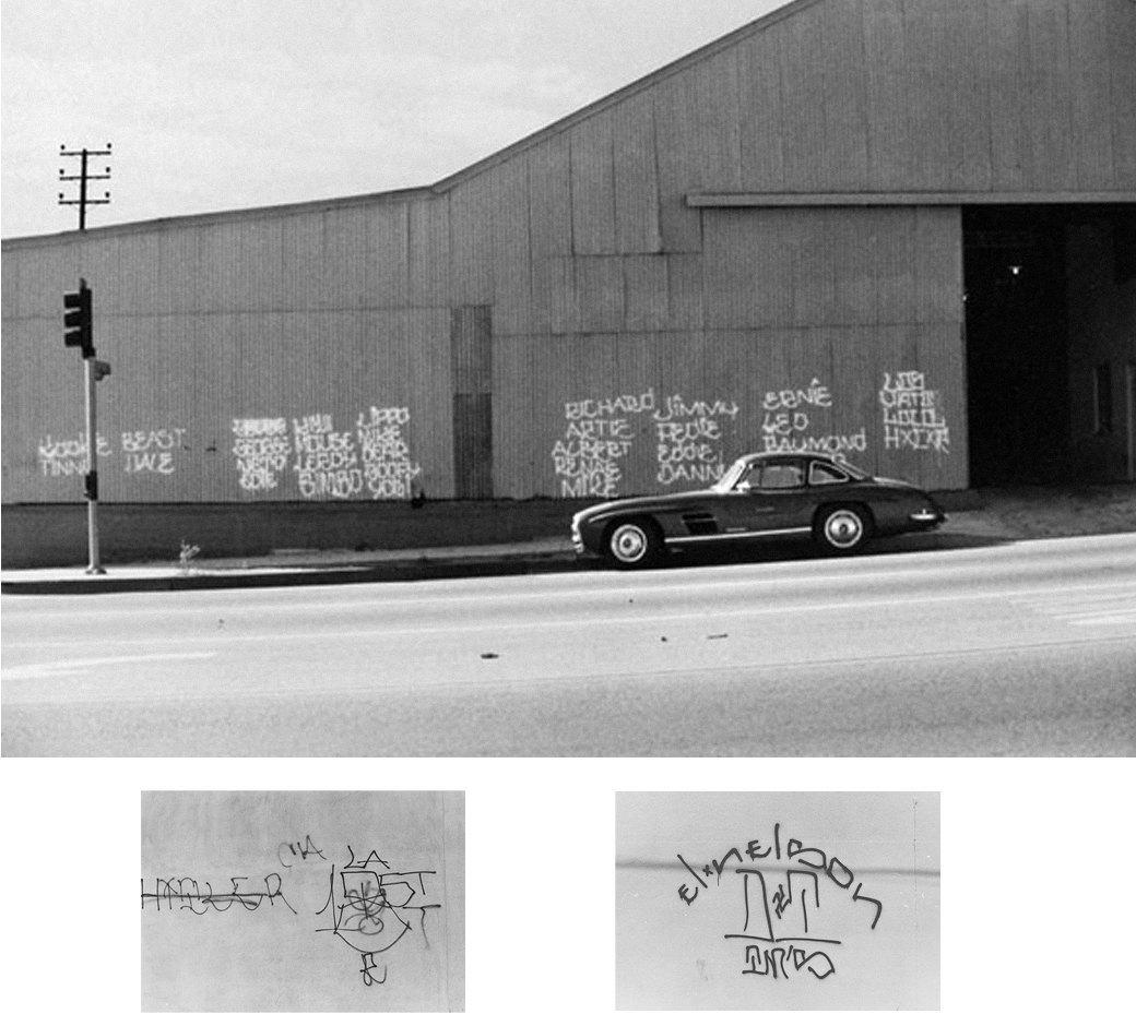 Cholo writing: Гид по граффити латинских банд Лос-Анджелеса. Изображение № 8.