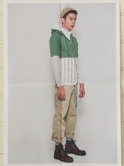 Японская марка Discovered выпустила лукбук весенней коллекции одежды. Изображение № 5.
