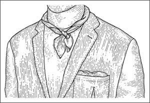 Как выбрать и правильно повязать шейный платок. Изображение № 6.