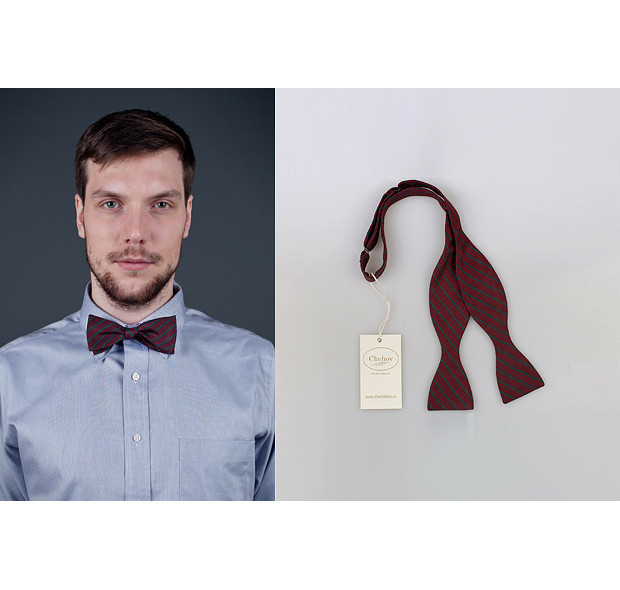 Московская марка Chehov выпустила новую коллекцию бабочек и галстуков. Изображение № 14.