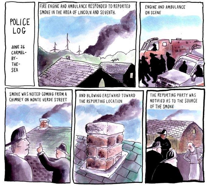 Police Log Comics: Абсурдные полицейские сводки в формате комиксов. Изображение № 1.