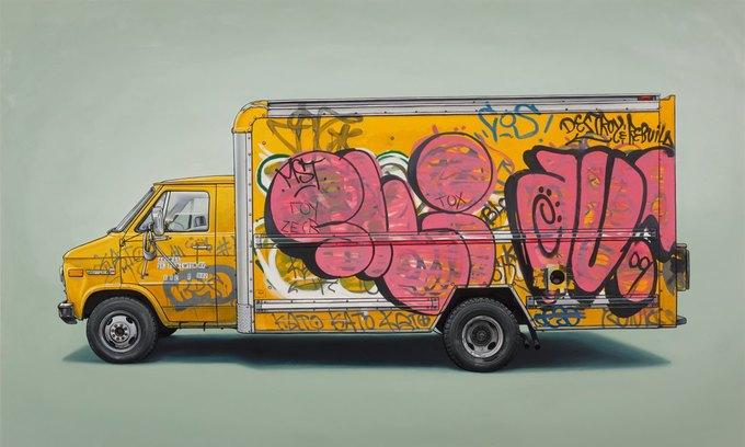 Кевин Сир: Граффити на фургонах как символ города. Изображение № 7.