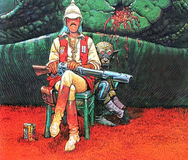 Умер французский художник Мебиус, работавший над картинами «Чужой» и «Бегущий по лезвию». Изображение № 6.