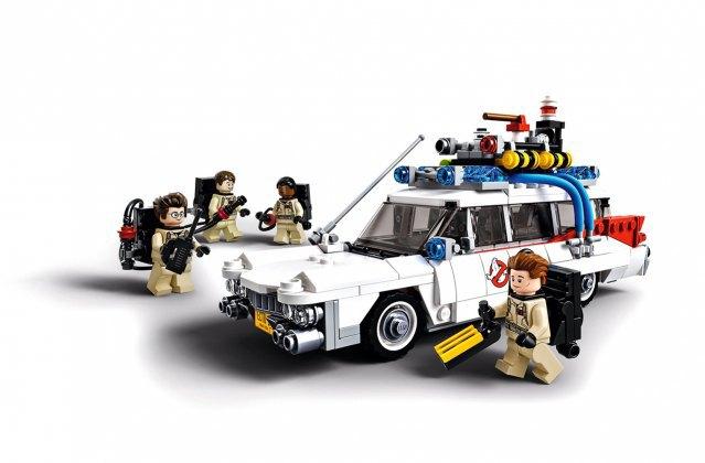 Компания LEGO к юбилею фильма «Охотники за привидениями» представила конструктор. Изображение № 1.