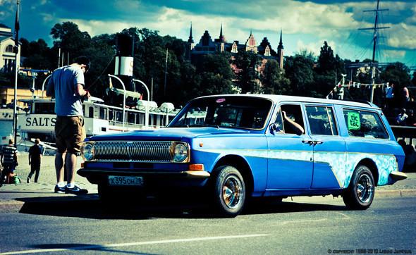 Волга, участвовавшая в шоу Volga Around Europe. Изображение № 22.