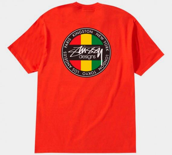Марка Stussy выпустила весеннюю линейку футболок . Изображение № 2.