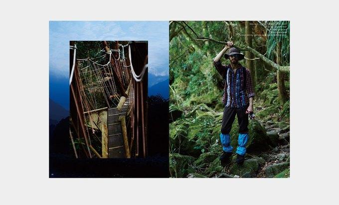 Марка Nepenthes опубликовала лукбук новой коллекции Needles. Изображение № 13.