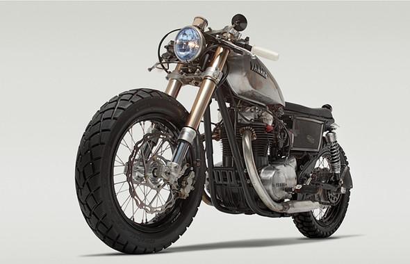 Календарь с кастомизированными мотоциклами сайта Bike EXIF. Изображение № 6.