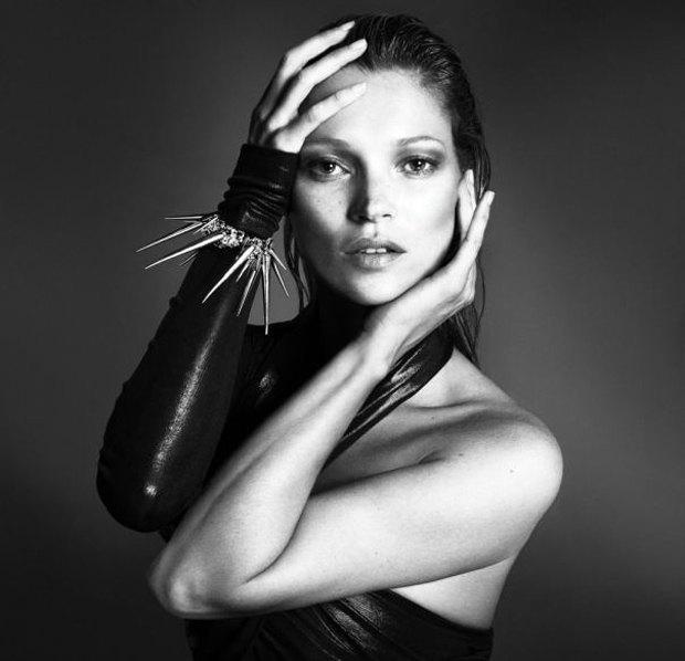 Аня Рубик, Наоми Кэмпбелл и другие известные модели разделись для Interview Magazine. Изображение № 1.