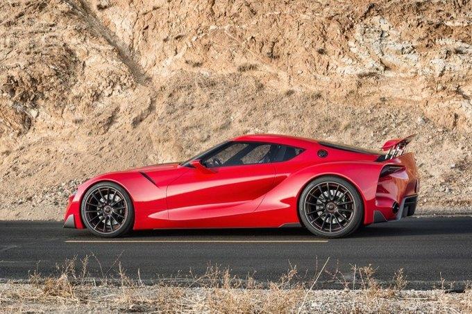 Toyota представила концепт спорткара FT-1. Изображение № 2.